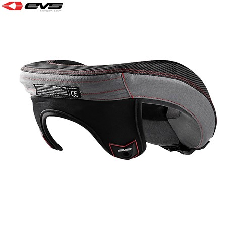 EVS R3 Neck Protector Including Armour Straps Youth (Black) One Size