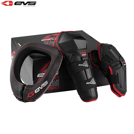 EVS Slam 2 Protector Combo (Inc Option Knee/Elbow/R2 Neck) (Black) Size Adult