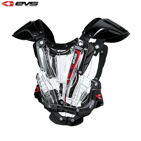 EVS Vex Chest Protector Adult Clear/Black