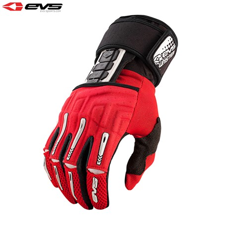 EVS Wrister Glove Wrist Brace Adult (Red) Pair