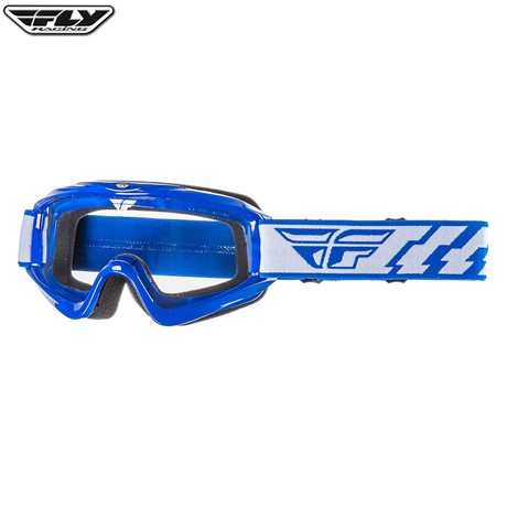Fly 2016 Focus Goggle Adult (Blue) Clear Lens