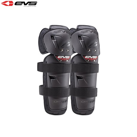 EVS 2016 Option Knee Guards Mini (Black) Pair Size Mini