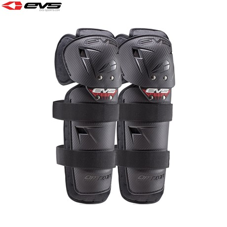 EVS 2016 Option Knee Guards Youth (Black) Pair Size Youth