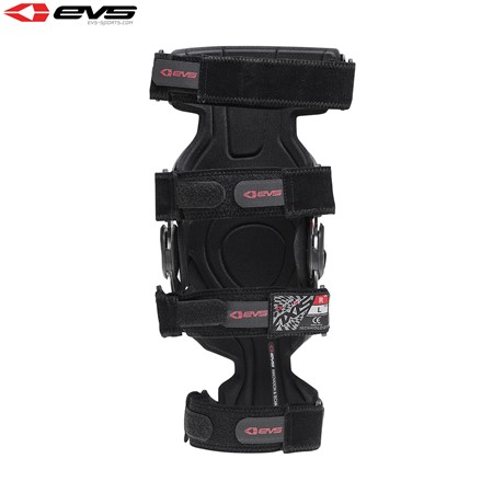 EVS Axis Sport Knee Brace Aluminium/Black (Pair)
