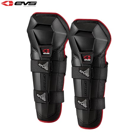 EVS Option Knee Guards Adult (Black) Pair
