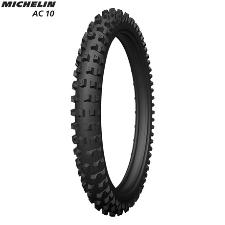 Michelin Front Tyre AC10 (E Mark Road Legal) Size 80/100-21